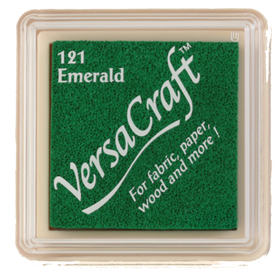 96821 - VersaCraft Mini - Emerald - Stoff-Stempelkissen -