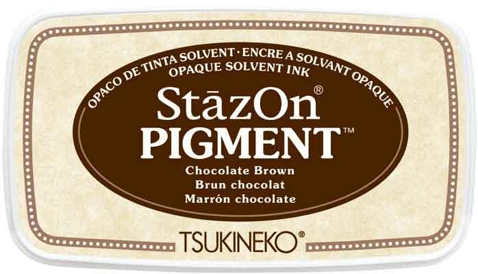 98141 - StazOn Pigment - Chocolate Brown - Stempelkissen -
