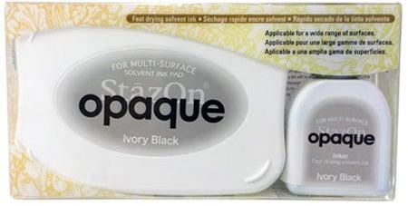 98482 - StazOn Opaque - Ivony Black - Stempelkissen Set -