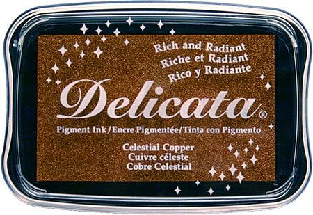 85393 - Delicata - Celestial Copper - Stempelkissen -