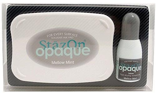 98409 - StazOn Opaque - Mellow Mint - Stempelkissen Set -