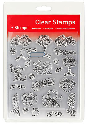 46849 - Clear Stamp Set - Happy Love -