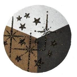 65414 - Embossing-Pulver - 10 Gramm - Schwarz + Gold Glimmer -