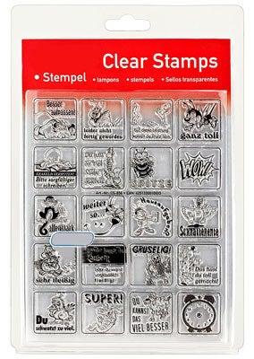 46856 - Clear Stamp Set - Lehrer Stempel -