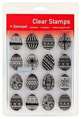 46823 - Clear Stamp Set - Ostereier -