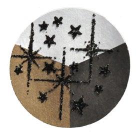 65420 - Embossing-Pulver - 10 Gramm - Schwarz + schwarzer Glimmer -