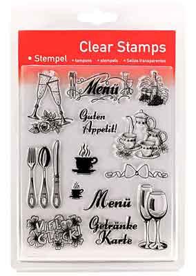 46817 - Clear Stamp Set - Feste Feiern -