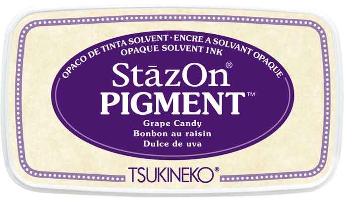 98111 - StazOn Pigment - Grape Candy - Stempelkissen -