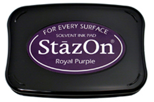 98201 - StazOn - Royal Purple - Stempelkissen -