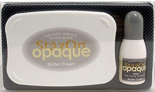 98405 - StazOn Opaque - Butter Creme - Stempelkissen Set -