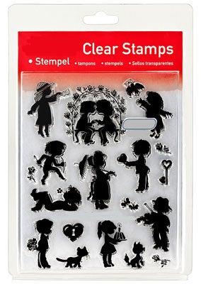 46854 - Clear Stamp Set - Scherenschnitte -