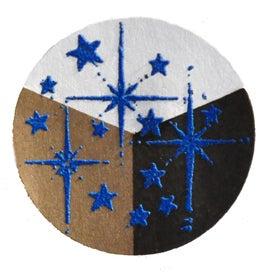 65442 - Embossing-Pulver - 10 Gramm - Blau + Flitter Perlmutt -
