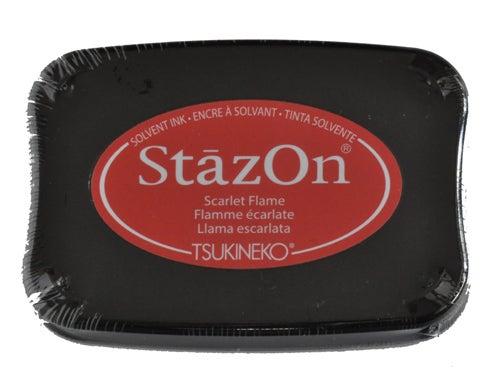 98225 - StazOn - Scarlet Flame - Stempelkissen -