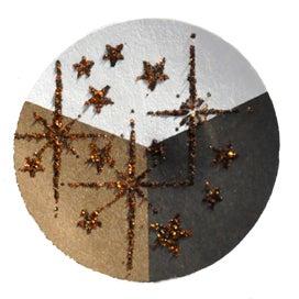 65418 - Embossing-Pulver - 10 Gramm - Schwarz + Kupfer Glimmer -