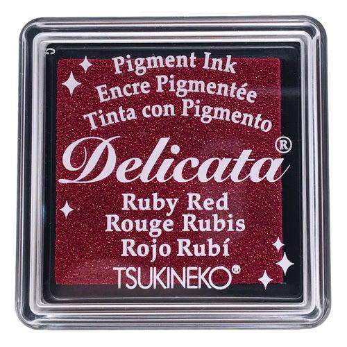 85025 - Delicata - Mini - Ruby Red - Stempelkissen -