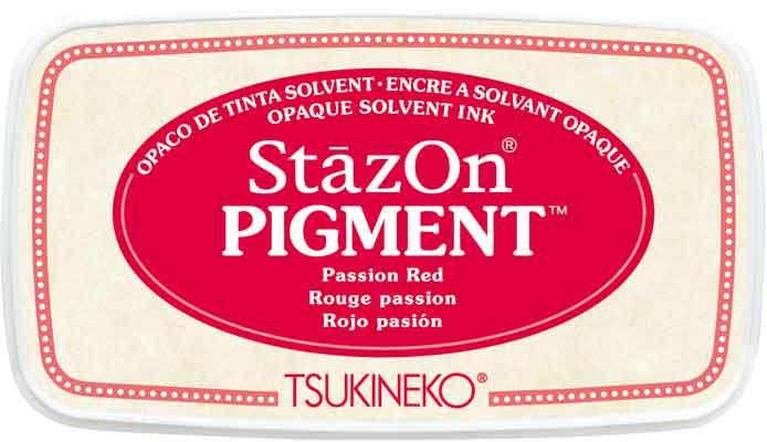98121 - StazOn Pigment - Passion Red - Stempelkissen -