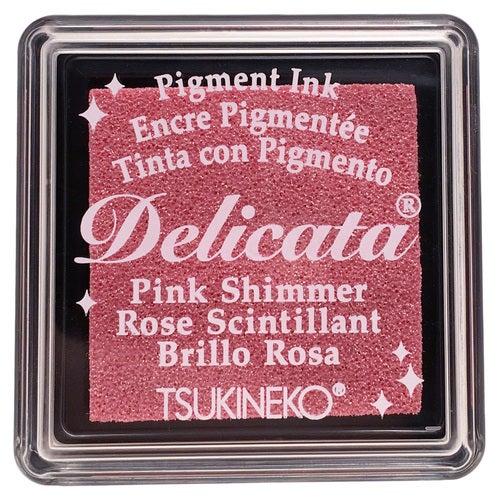 85033 - Delicata - Mini - Pink Shimmer - Stempelkissen -
