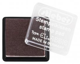 43354 - Tinten-Stempelkissen - Braun - 41x41 mm