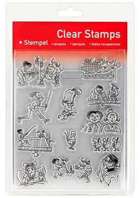 46848 - Clear Stamp Set - Max und Moritz -