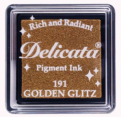 85091 - Delicata - Mini - Golden Gliz - Stempelkissen -