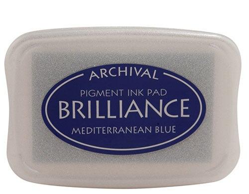 94218 - Brilliance - Mediterranean Blue - Stempelkissen -