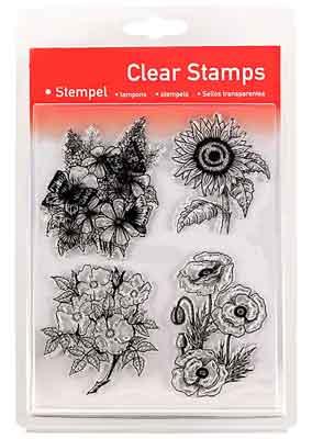 46816 - Clear Stamp Set - Blumen XXl-