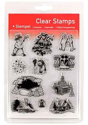 46821 - Clear Stamp Set - Winterzeit -