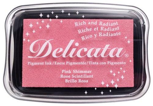 85333 - Delicata - Pink Shimmer - Stempelkissen -