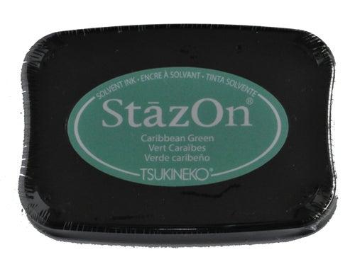 98255 - StazOn - Caribean Green - Stempelkissen -