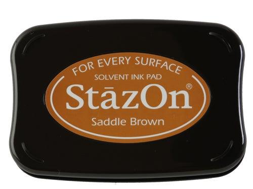 98243 - StazOn - Saddle Brown - Stempelkissen -