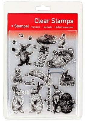 46827 - Clear Stamp Set - Ostern Scribble Stil -