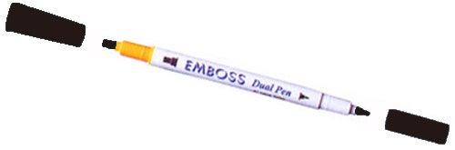 99157 - Emboss Stift  - Schwarz - Filzschreiber -