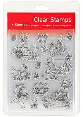 46824 - Clear Stamp Set - Ostern Naiv I -