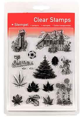 46814 - Clear Stamp Set - Im Garten -
