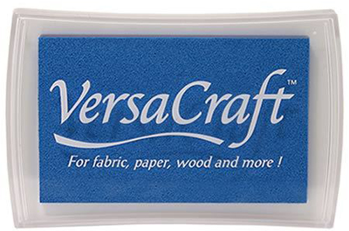 96019 - VersaCraft - Cerulan Blue - Stoff-Stempelkissen -