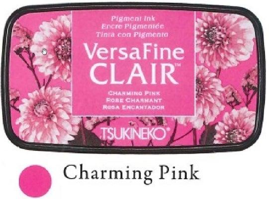 91515 - VersaFine CLAIR – VF-801 - Charming Pink - Stempelkissen -