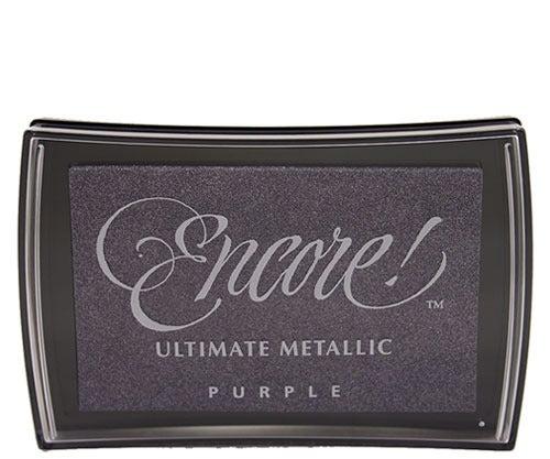 95604 - Encore - Purple Metallic - Stempelkissen -