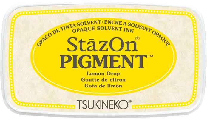 98191 - StazOn Pigment - Lemmon Drop - Stempelkissen -