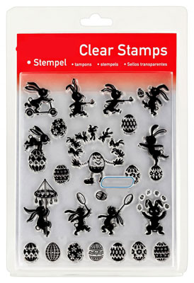 46822 - Clear Stamp Set - Hasen-Parade -