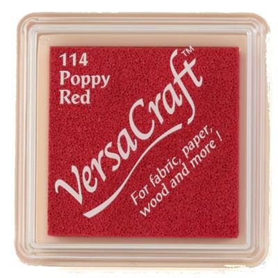 96814 - VersaCraft Mini - Poppy Red - Stoff-Stempelkissen -