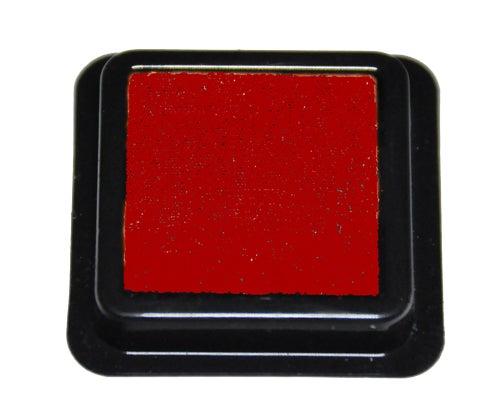 42314 - Tinten-Stempelkissen - Rot - 41x41 mm