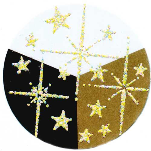 65033 - Embossing-Pulver - 10 Gramm - Gelb Hologramm -