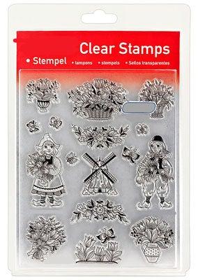46839 - Clear Stamp Set - Tulpengrüße aus Holland -