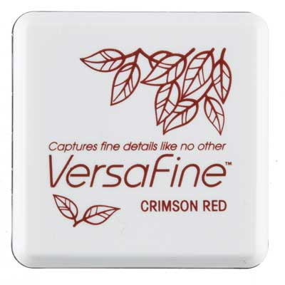 91611 - VersaFine Mini - Crimson Red - Stempelkissen -