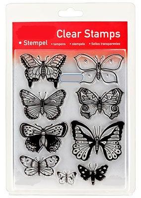 46842 - Clear Stamp Set - Schmetterlinge -