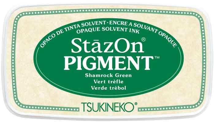 98151 - StazOn Pigment - Shamrock Green - Stempelkissen -