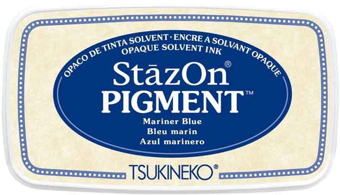 98161 - StazOn Pigment - Mariner Blue - Stempelkissen -