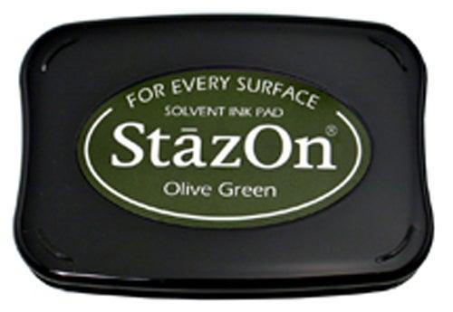 98251 - StazOn - Olive Green - Stempelkissen -