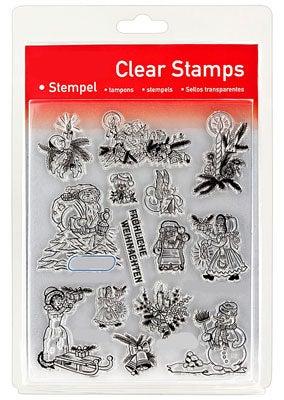 46835 - Clear Stamp Set - Weihnachten Vintage -