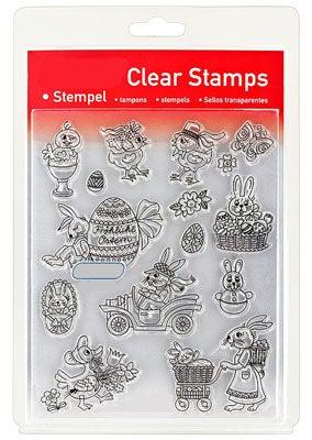 46826 - Clear Stamp Set - Ostern Naiv III -